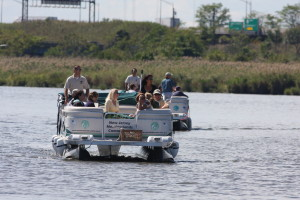 NJMC Pontoon Boat on Hackensack River