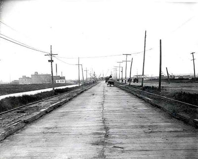 Newark Plank Road ca 1910