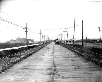 Newark Plank Road ca 1910