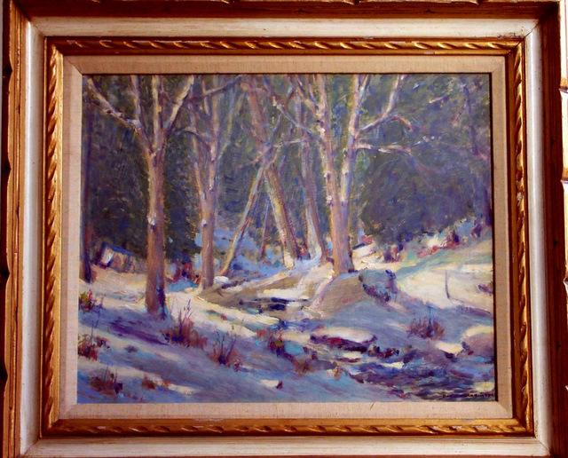 Vermont Snow 20x24
