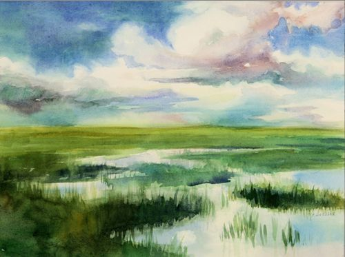 NJ Marsh by Dressel
