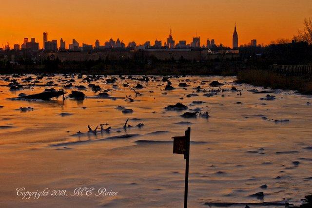 WV 018af MCM Mdwlnds NJ Ice n Marsh Stumps at Pre Sunrise 020213 OK FLICKR
