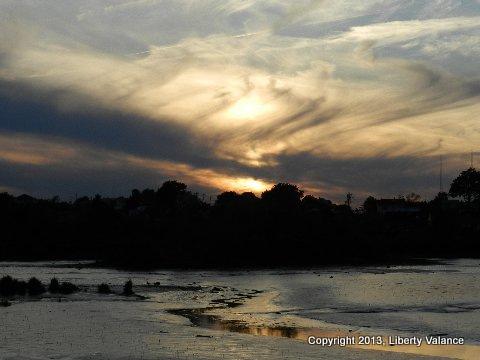 Liberty sunset-001