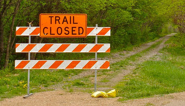 trail-closed