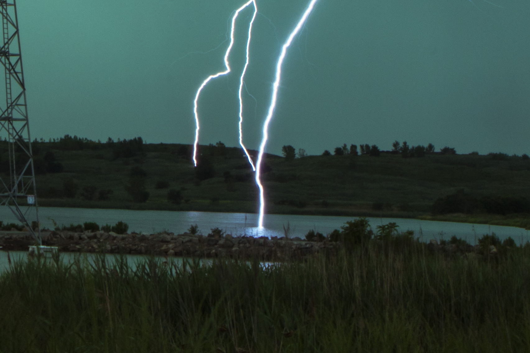 lightning-closeup
